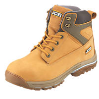 JCB Fast Track   Safety Boots Honey Size 9