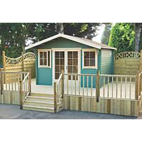 Shire Caledonian Log Cabin 3.5 x 3.5m