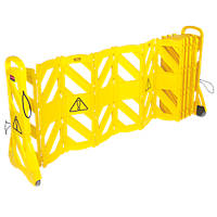 Rubbermaid  Mobile Barricade System Yellow