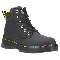 Dr Martens Batten   Safety Boots Black Size 8