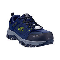 Skechers Greetah Metal Free  Safety Trainers Navy/Black Size 8
