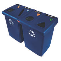 Rubbermaid Glutton Recycling Centre 348Ltr