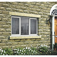 Jeld-Wen Stormsure Left & Right-Hand Opening Double-Glazed Casement White Painted Timber Window 1765 x 895mm