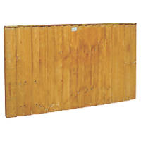 Forest Feather Edge Fence Panels 1.82 x 0.9m 5 Pack