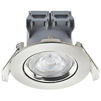 LAP  Adjustable  LED Downlight Brushed Nickel 370lm 4W 220-240V