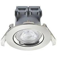 LAP  Adjustable  LED Downlight Brushed Nickel 5W 370lm