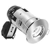 Aurora  Fixed  Fire Rated Downlight Polished Chrome 12 / 240V