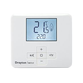 Drayton Mistat Mn110r9k09sx Wireless Room Thermostat And