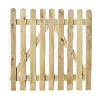 Forest  Garden Gate 1000 x 900mm Natural Timber