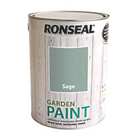 Ronseal Garden Paint Sage 5Ltr