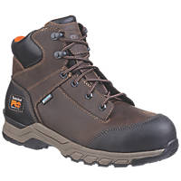 Timberland Pro Hypercharge Metal Free  Safety Boots Brown Size 7