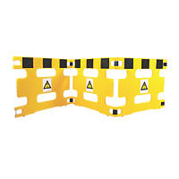 Addgards Handigard 3-Panel Barrier Yellow / Black