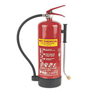 Firechief  Wet Chemical Fire Extinguisher 6Ltr