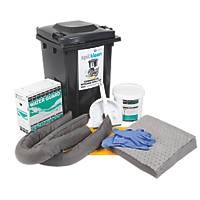 150Ltr Commercial Mobile Spill Kit 41 Pieces