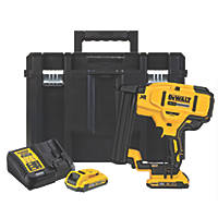 DeWalt DCN681D2-GB 38mm 18V 2.0Ah Li-Ion XR Brushless Second Fix Cordless Stapler