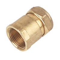 Compression Adapting Female Coupler 22mm x ¾""