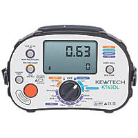 Kewtech KT63DL Multifunction Tester