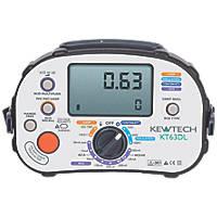 Kewtech KT63DL Multifunction Tester