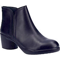 Amblers AS608  Ladies Safety Boots Black Size 4