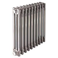 Acova  3-Column Horizontal Designer Radiator 600 x 1042mm Raw Metal 4571BTU