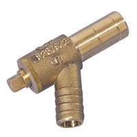 Hep2O Push-Fit Brass Drain Cock 15mm