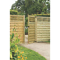 Forest Kyoto Gate 900 x 1800mm Natural Timber