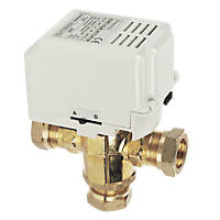 Drayton MA1/679-3 3-Port Motorised Valve 22mm 22mm Compression