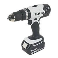 Makita DHP453SMWX 18V 4.0Ah Li-Ion LXT  Cordless Combi Drill & 101 Accessories