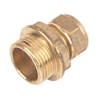 Compression Adapting Male Coupler 15mm x ¾""