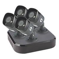 Yale SV-8C-4ABFX 8-Channel HD CCTV System & 4 Cameras