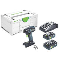 Festool TID 18 HPC I-Plus 18V 4.0Ah Li-Ion Airstream Brushless Cordless Impact Drill