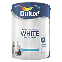 Dulux Emulsion Paint Pure Brilliant White 5Ltr