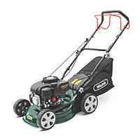 Webb WER410SP 41cm 132cc Self-Propelled Rotary Petrol Lawn Mower