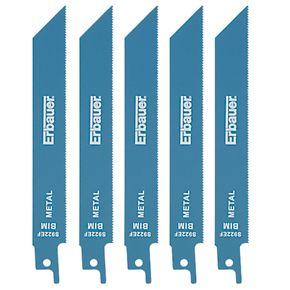 erbauer ss922ef reciprocating saw blades 150mm 5 pack. Black Bedroom Furniture Sets. Home Design Ideas