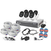 Swann SODVK-845806-UK 8-Channel CCTV DVR Kit & 6 Cameras