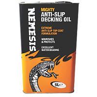 Nemesis Anti-Slip Decking Oil Clear 5Ltr