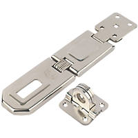 Smith & Locke Hasp & Staple Nickel 158mm