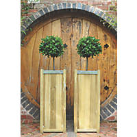 Forest Square Planter  400 x 400 x 1000mm 2 Pack