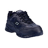 Skechers Soft Stride - Grinnell Metal Free  Safety Trainers Black Size 6