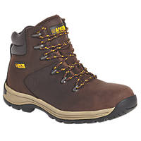 Apache AP315CM   Safety Boots Brown Size 8