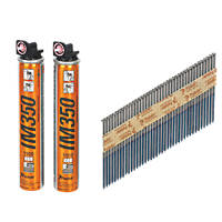 Paslode Bright IM350 Collated Nails 3.1 x 90mm 2200 Pack