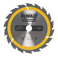 DeWalt Circular Saw Blade 165 x 20mm 18T