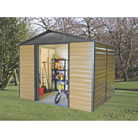 Yardmaster  Sliding Door Shed Woodgrain Effect  9' 6 x 6' (Nominal)