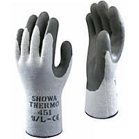 Gardening Gloves 10 X Showa 350r Thorn Master Nitrile Grip Gardening Work Safety Gloves All Sizes
