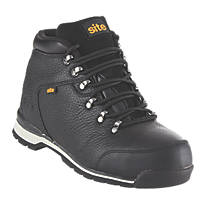 Site Meteorite Safety Boots Black Size 8