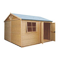 Shire 12' x 12' (Nominal)  Tongue & Groove Timber Workshop