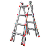 Little Giant Revolution 4-Section Aluminium Multipurpose Ladder  4.2m