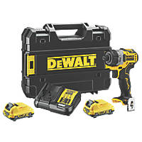 DeWalt DCF601D2-GB 12V 2.0Ah Li-Ion XR Brushless Cordless Screwdriver