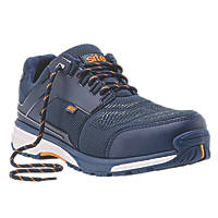 Site Agile   Safety Trainers Blue  Size 8