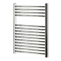 Blyss  Curved Towel Radiator 700 x 600mm Chrome 859BTU